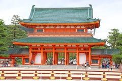 Santuário de Heian foto de stock