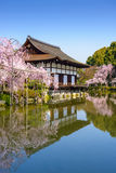 Santuário de Heian em Kyoto fotos de stock royalty free