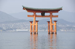 Santuário de Itsukushima Fotografia de Stock Royalty Free