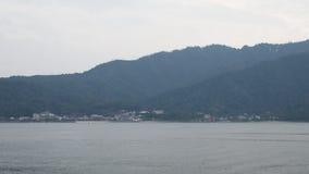 Santuário de Itsukushima e ilha de Miyajima Imagens de Stock Royalty Free