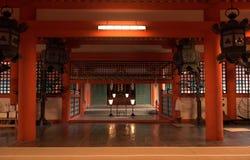 Santuário de Itsukushima, Miyajima, Japão fotos de stock