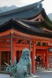 Santuário de Itsuskushima Jinja, Miyajima fotos de stock royalty free