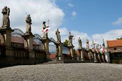 Santuário de Kalwaria Zebrzydowska - Polônia Foto de Stock Royalty Free