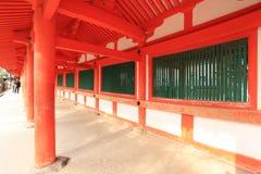 Santuário de Kasuga Taisha, Nara, Japão Fotografia de Stock