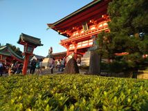Santuário de Kyoto Fotografia de Stock Royalty Free
