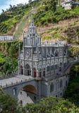 Santuário de Las Lajas - Ipiales, Colômbia Imagem de Stock