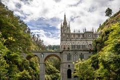 Santuário de Las Lajas - Ipiales, Colômbia Imagem de Stock Royalty Free