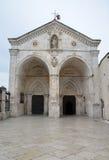 Santuário de Monte Sant ' Angelo Imagens de Stock Royalty Free