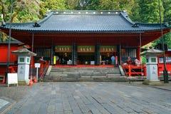 Santuário de Nikko Futarasan em NIkko, Japão imagens de stock