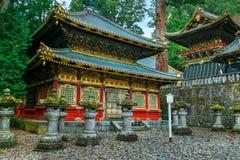 Santuário de Nikko Toshogu em Nikko, Japão fotos de stock