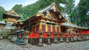 Santuário de Nikko Toshogu em Nikko, Japão fotografia de stock royalty free