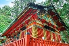 Santuário de Nikko Toshogu em Nikko, Japão imagens de stock