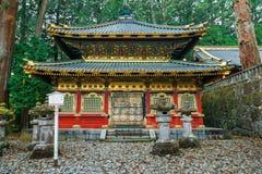 Santuário de Nikko Toshogu em Nikko, Japão fotos de stock royalty free