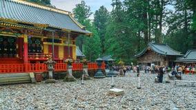 Santuário de Nikko Toshogu em Nikko, Tochigi, Japão fotografia de stock