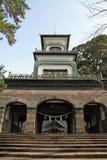 Santuário de Oyama fotos de stock
