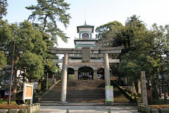 Santuário de Oyama fotografia de stock royalty free