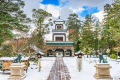Santuário de Oyama em Kanazawa foto de stock royalty free
