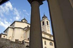 Santuário de Sacro Monte Calvario Foto de Stock