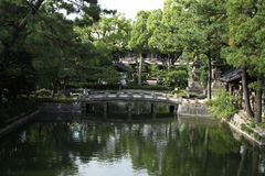 Santuário de Sumiyoshi Fotos de Stock Royalty Free