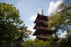 Santuário de Tosho-gu da visita dos povos o 15 de agosto de 2015 em Nikko, Japão foto de stock