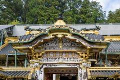 Santuário de Toshogu em Nikko Foto de Stock Royalty Free