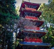 Santuário de Toshogu em Nikko, Japão fotos de stock