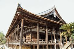 Santuário de Toyokuni em Miyajima fotografia de stock royalty free