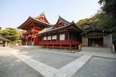 Santuário de Tsurugaoka Hachimangu, Kamakura, Japão Foto de Stock