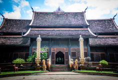 Santuário de Wat Lok Moli fotografia de stock