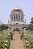 Santuário do Báb e de seus terraços associados Fotografia de Stock Royalty Free