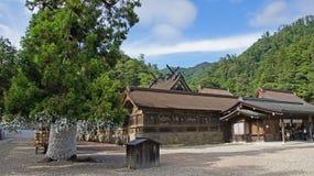 Santuário do cano principal do taisha de Izumo Imagens de Stock
