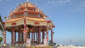 Santuário do chinês de Guanyin fotografia de stock