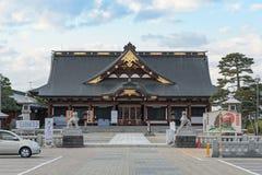 Santuário do gokoku de Yamagataken e flor de cerejeira da flor completa (Sakura) Fotos de Stock