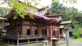 Santuário do isosaki de Oarai, Ibaraki imagens de stock