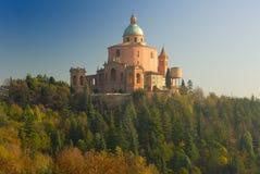 Santuário do Madonna di San Luca Fotos de Stock Royalty Free