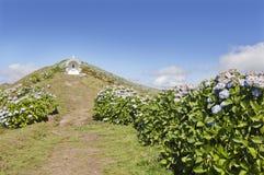 Santuário em Faial, Açores Imagem de Stock Royalty Free