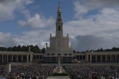 Santuário Fatima, maio 13 - 2009 Fotografia de Stock