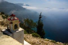 Santuário grego da borda da estrada Imagem de Stock Royalty Free