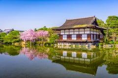 Santuário Japão de Heian imagens de stock royalty free
