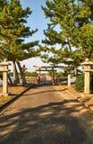 Santuário japonês Imagens de Stock Royalty Free