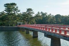 Santuário japonês Imagem de Stock