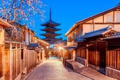 Santuário Kyoto de Yasaka imagens de stock