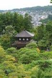 Santuário no templo de Ginkakuji Fotografia de Stock