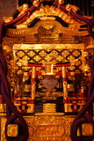 Santuário portátil (Mikoshi) Imagens de Stock Royalty Free