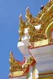 Santuário que da coluna da cidade de Phitsanulok o budista do naga acredita Fotografia de Stock