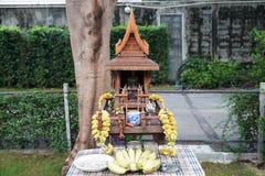Santuário tailandês da casa do espírito Fotos de Stock