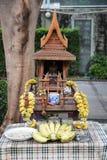 Santuário tailandês da casa do espírito Imagem de Stock