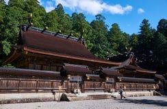 Santuário xintoísmo de Kumano Hongu Taisha fotografia de stock