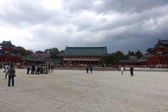 Santuário xintoísmo de Shimogamo, Kyoto, Japão foto de stock