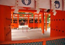 Santuário xintoísmo japonês Foto de Stock
